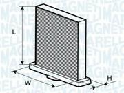 350203062130 MAGNETI MARELLI Фильтр, воздух во внутренном пространстве