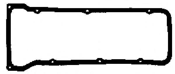 X0924001 GLASER Прокладка клапанной крышки Lada 1.21.6 72