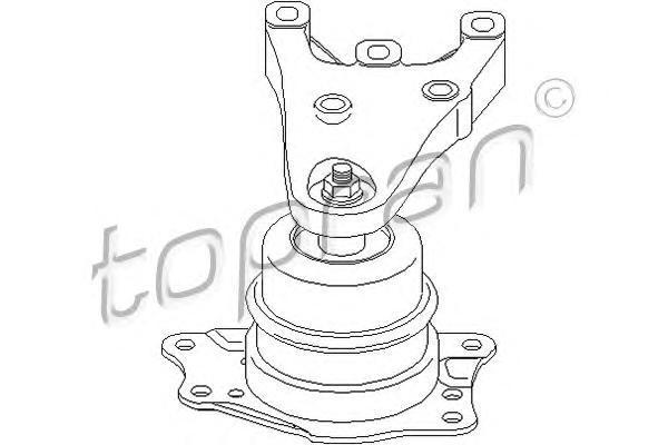 112133 TOPRAN Подвеска, двигатель