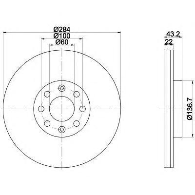 92145803 TEXTAR Диск тормозной TEXTAR