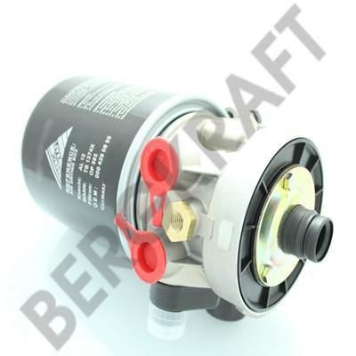 BK8506277 BERGKRAFT Осушитель воздуха в сборе 12V/8.1Bar (Knorr-Bremse:LA6277) ПАЗ-32053
