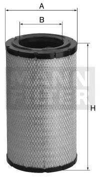C21560 MANN-FILTER Воздушный фильтр