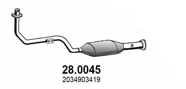 280045 ASSO Катализатор