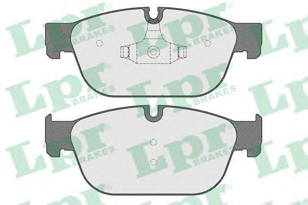 05P1561 LPR Комплект тормозных колодок, дисковый тормоз