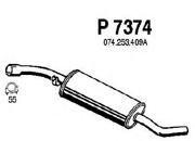 P7374 FENNO Средний глушитель выхлопных газов