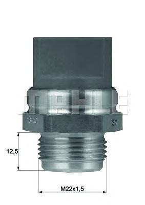 TSW9D BEHR-HELLA Термовыключатель, вентилятор радиатора