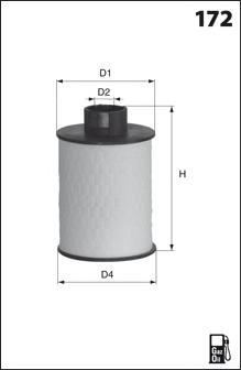 Топливный фильтр MECAFILTER ELG5322