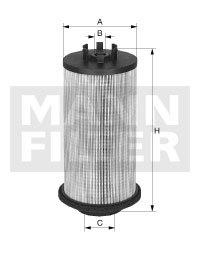 PU10021Z MANN Топливный фильтр