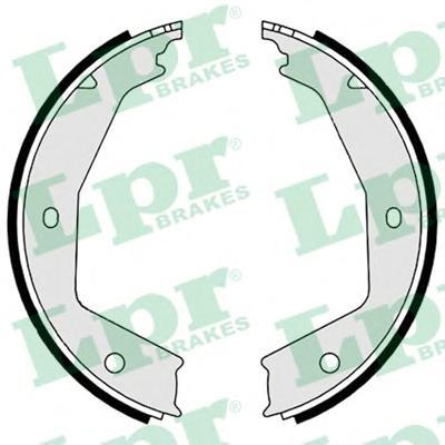 09060 LPR Комплект тормозных колодок, стояночная тормозная система