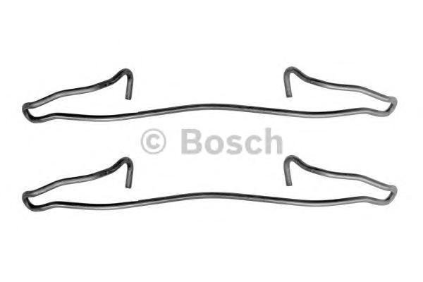 1987474114 BOSCH Комплектующие, колодки дискового тормоза