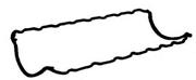 JJ457 PAYEN Прокладка, маслянный поддон