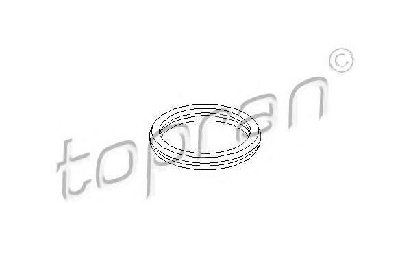 302260 TOPRAN Прокладка, термостат
