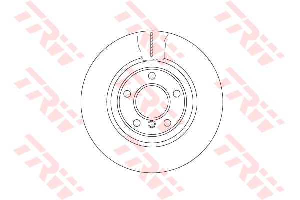 DF6616S TRW/LUCAS Тормозной диск