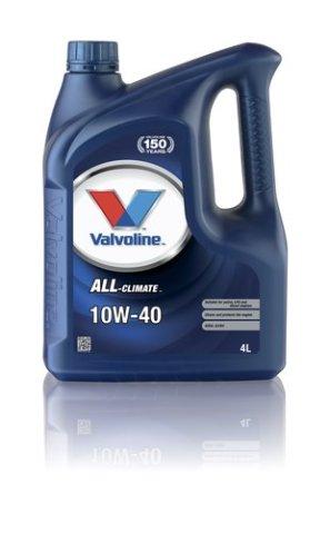 Масло моторное полусинтетика 10W-40 4 л. VALVOLINE 872780