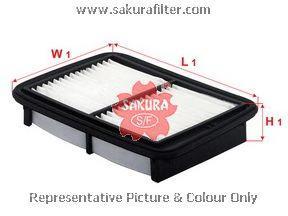 A1230 SAKURA Воздушный фильтр