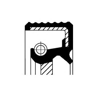 20015465B CORTECO Уплотняющее кольцо, промежуточный вал