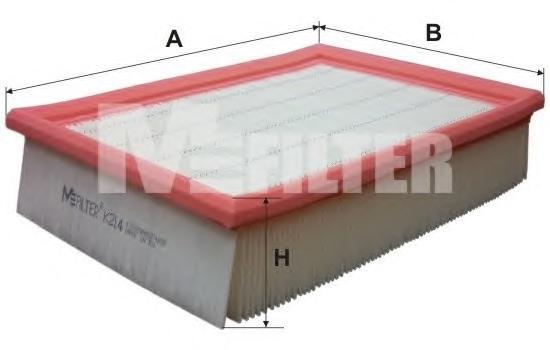 Воздушный фильтр M-FILTER K214