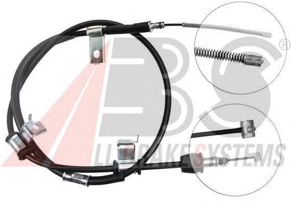 Трос, стояночная тормозная система ABS K17127