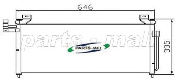 PXNCH003 PARTS-MALL Конденсатор