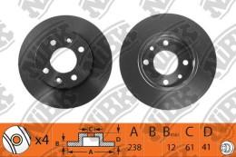 Тормозной диск NIBK RN1000