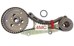 Кассета ремня грм diesel 1.8 ремень, 2-а ролика, натяжитель FORD 1562244