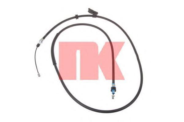9025158 NK Трос ручного тормоза-задний правый / FORD Mondeo-IV,S-Max,Galaxy 06~