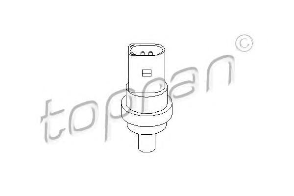 109896 TOPRAN Датчик, температура охлаждающей жидкости