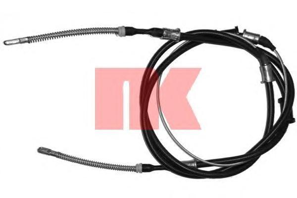 903652 NK Трос, стояночная тормозная система