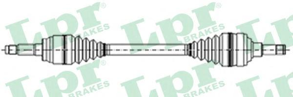 DS21048 LPR Приводной вал