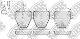 Комплект тормозных колодок NIBK PN0138W