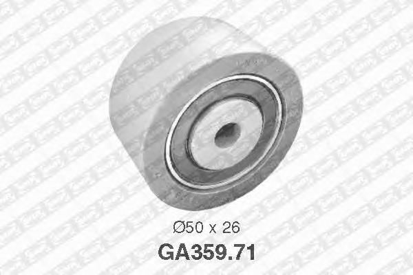 GA35971 NTN-SNR Паразитный / ведущий ролик, поликлиновой ремень