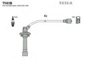 T583B TESLA Комплект проводов зажигания