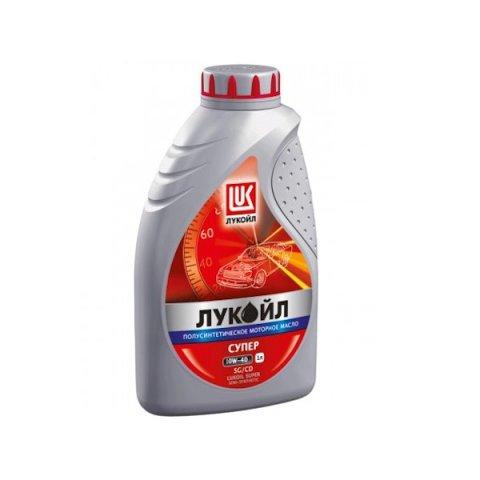 Масло моторное полусинтетика 10W-40 1 л. LUKOIL 19191