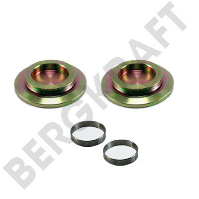 BK1617205AS BERGKRAFT Ремонтный комплект суппорта (Meritor:MCK1309) For Meritor Type Calipers LRG638/LRG639