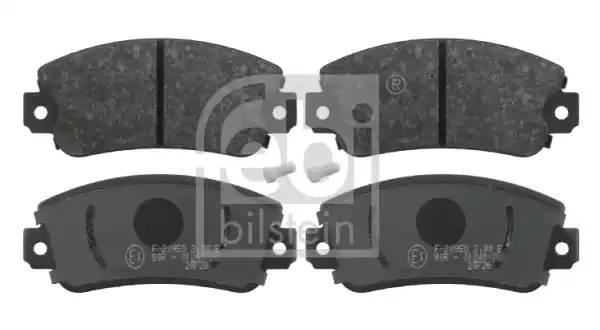 16077 FEBI Набор тормозных накладок