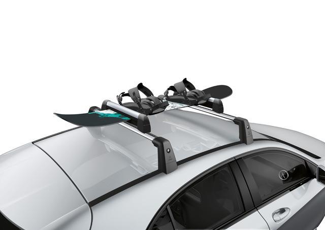 0008900493 MERCEDES-BENZ Крепление New Alustyle Standard для перевозки лыж и сноубордов