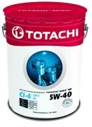 4589904921681 TOTACHI Масло моторное TOTACHI NIRO HD 5W-40 Синтетика 19 л.