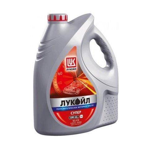 Масло моторное полусинтетика 10W-40 5 л. LUKOIL 19193