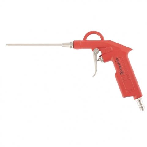 Пистолет продувочный с удлиненным соплом, пневматический, 135 мм. MATRIX 57332