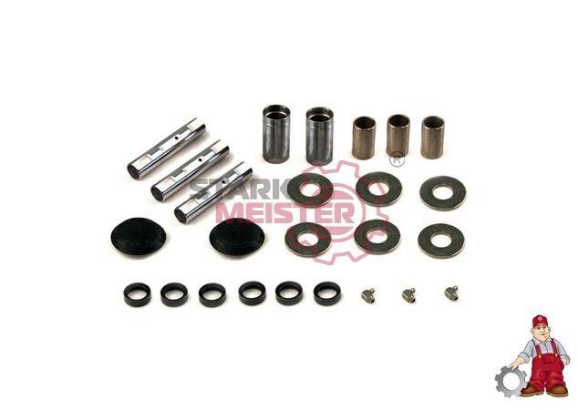 S160411 STARKMEISTER Ремонтный комплект рессоры (пальцы 26x136-3шт.+втулки+шайбы) DAF F65/75/85/95,65/75/85CF,95XF,XF95
