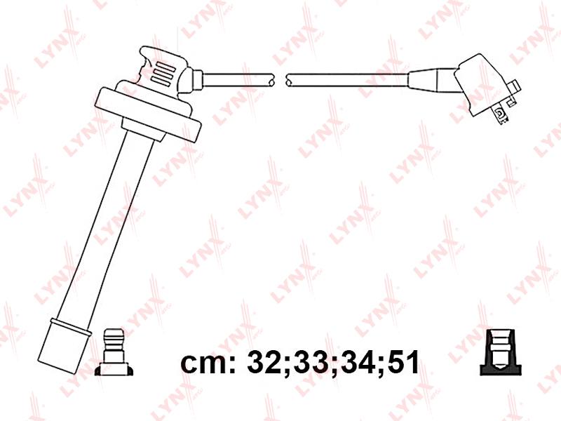 SPC7573 LYNXAUTO Провода высоковольтные