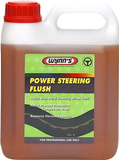 Жидкость для промывки и очистки системы гидроусилителя руля WYNNS W62411