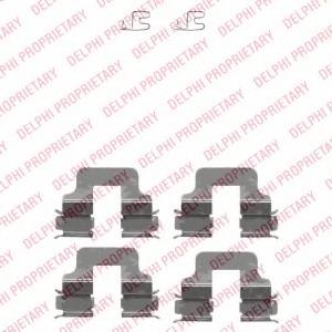 LP2188 DELPHI Тормозные колодки LP2188