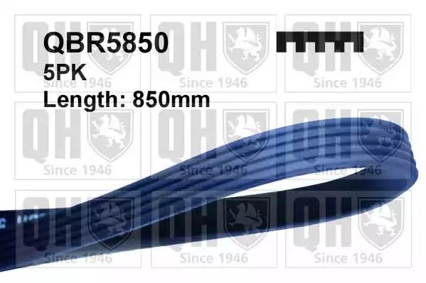 QBR5850 QUINTON HAZELL Ремень поликлиновый