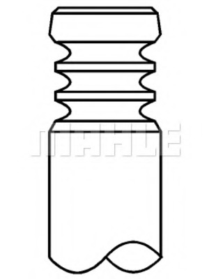 Впускной клапан MAHLE/KNECHT 029VE30886100