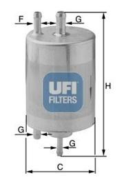 3195800 UFI Фильтр