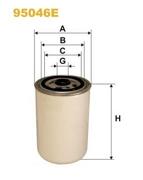 95046E WIX FILTERS Топливный фильтр