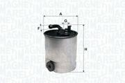 152071761636 MAGNETI MARELLI Топливный фильтр