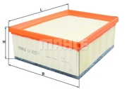LX42971 MAHLE/KNECHT Воздушный фильтр