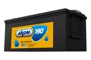 4607034730178 АКОМ Батарея аккумуляторная 190А/ч 1000А 12В обратная полярн. стандартные клеммы